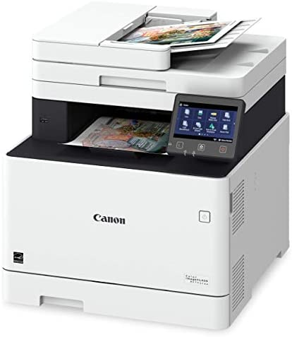 Canon Color ImageClass MF741Cdw Multifunction, Wireless, Mobile Ready, Duplex Printer Includes 3-Year Limited Warranty