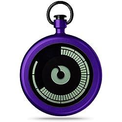 ZIIIRO Z0009PWP Titan Purple Pocket Watch
