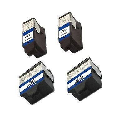 JCPINKTONER(TM) 4 Pack 10 10XL Black, Color Compatible Ink Cartridges for Kodak ESP 3, 5, 7, 9, 3250, 5210, 5250, 7250, 9250, Office 6150, Office HERO 6.1, HERO 7.1, 9.1, EASYSHARE 5100, 5300, 5500 (Models 8237216 and 8946501) by JCPInktoner (3 Colours Compatible Cartridges)