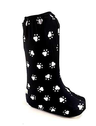 (My Recovers Walking Boot Cover for Fracture Boot, Fashion Cover in Dog Paw, Tall Boot, Made in USA, Orthopedic Products Accessories (Large) )