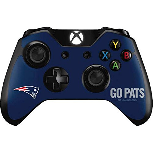 - Skinit New England Patriots Team Motto Xbox One Controller Skin - Officially Licensed NFL Gaming Decal - Ultra Thin, Lightweight Vinyl Decal Protection