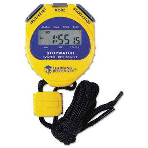 Learning Resources Big Digit Stopwatch Athletics, Exercise, Workout, Sport, Fitness