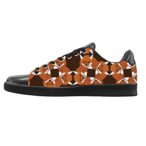 Canvas sopra Custom Tela Alto I Scarpe Lacci da Le Scarpe Fox Men's Scarpe Scarpe di Ginnastica Shoes di in delle vvw4rE1qx