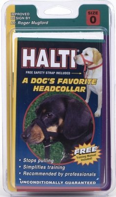COASTAL PET PRODUCTS, INC. - HALTI HEAD COLLAR SIZE O BLACK