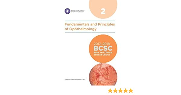 Amazon Com 2017 2018 Basic And Clinical Science Course Bcsc