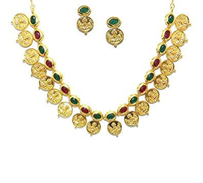 Buy VINAYAK JEWELLERS Gold Plated Temple Jewellery Coin