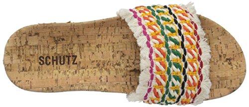 Schutz Women's KAHARA Slide Sandal, Multi, 9 M US by Schutz (Image #8)