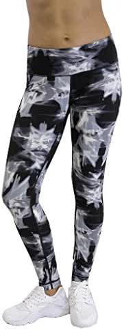 90 Degree By Reflex - Peachskin Brushed Printed Leggings - Yoga Pants