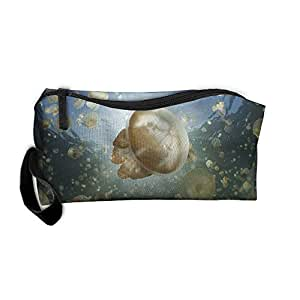 Outdoor Tavel Storage Tools Bag, Canvas Jelly Fish Lake Palau Purse Or Makeup Bag