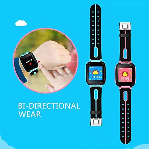 Kids Smart Watch Phone, LBS/GPS Tracker Smart Watch for 3-12