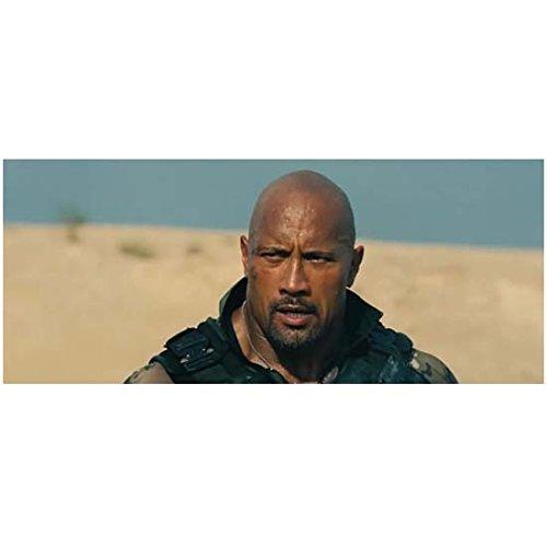 - G.I. Joe: Retaliation Dwayne Johnson as Roadblock Chest Up Shot Mouth Open Looking Intense 8 x 10 Inch Photo