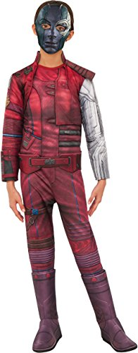 Rubie's Costume Guardians Of The Galaxy Vol. 2 Child's Deluxe Nebula Costume, Multicolor, Small - Guardians Of The Galaxy Kids Costumes