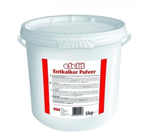 Descalcificador Etolit, 5 kg, para todo tipo de cafeteras con filtro, para ECM, Isomac, Vibiemme, Rancilio, Bezzera o Rocket: Amazon.es: Hogar