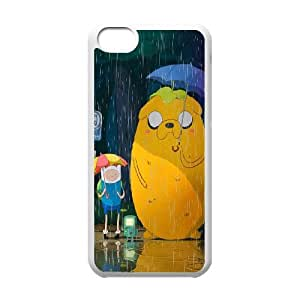 Custom Case Adventure Time For iPhone 5C Q3V403251