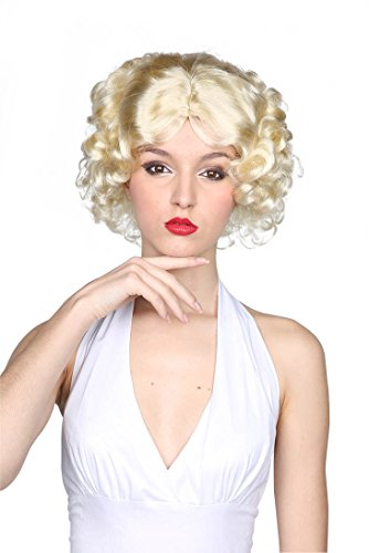 Wavy Marilyn Wig - Old School Hollywood Costume