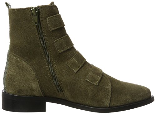 Ankle PMS Vert 10333 Stories Femme Kaki Bottines Boot 55rPgU