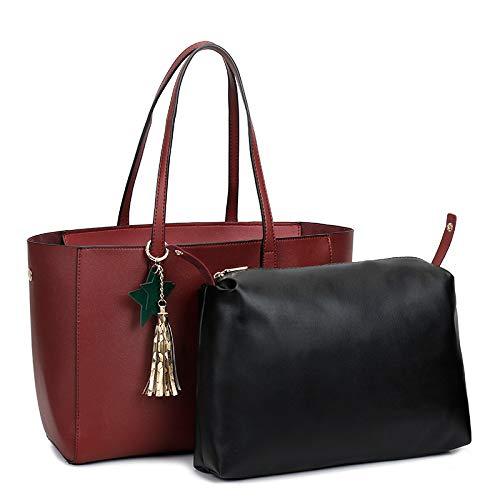 555f94b4a8 Spalla Moda Borse A Bag Borsa Red Shopping Tracolla Elegante Donna Mano  MpqzSUV