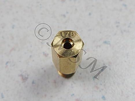 HONDA NEW K/&L KEIHIN CARB CARBURETOR 99101-357 HEX MAIN JET #178 18-4581