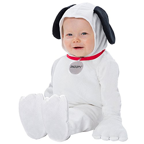 Baby Snoopy Costumes (Palamon Baby Peanuts Snoopy Costume, White, 12 Months 18 Months)