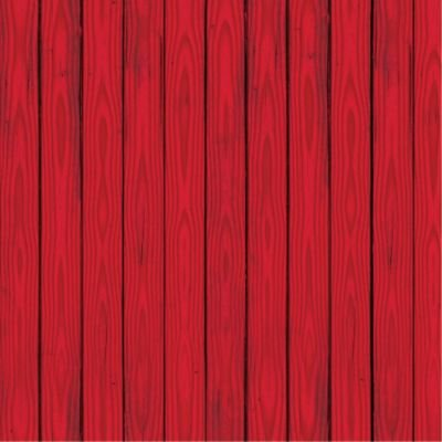 Beistle Home Decorative Seasonal Party Accessory Red Barn Siding Backdrop Insta-Theme 4' X -