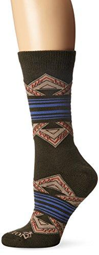 Pendleton Crew Socks, American Treasures - Loden/Green, Medium (Fits Women's Shoe Size 6-10/ Men's Shoe Size - Wool Motif Gloves