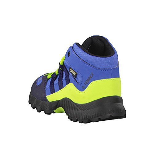 adidas Terrex Mid GTX I, Botas de Senderismo Unisex Niños Azul (Azretr/Maruni/Limsol 000)