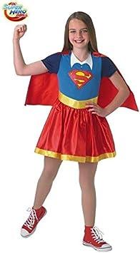 DISBACANAL Disfraz Supergirl para niña - Único: Amazon.es ...