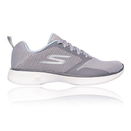 Skechers Go Walk 4 Edge Womens Schuh - SS18 Grey