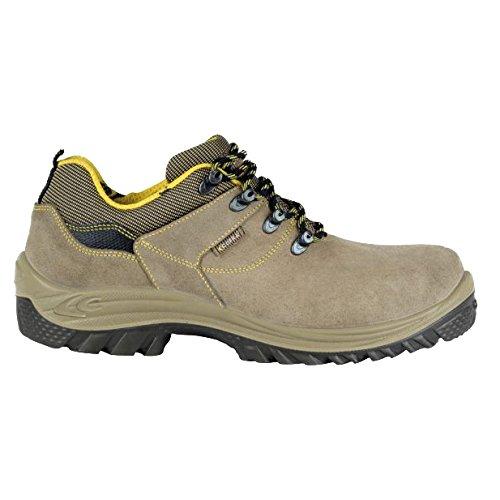 Cofra scicli S1P SRC par de zapatos de seguridad talla 41, Caqui