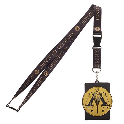 Universal Lanyard (Harry Potter Ministry of Magic Breakaway Lanyard ID Badge Holder)