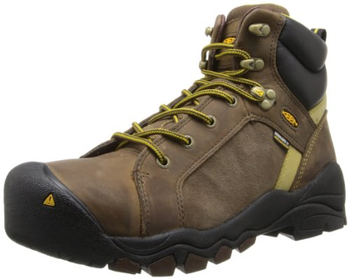 KEEN Utility Womens Salem Mid Steel Toe Work Boot Shitake