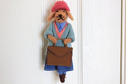 Needle felt , Needle felted dog , Handmade dog , Dog ,needle felt animal, Great gift , Holiday gift , Dog miniature (Made to Order) ()