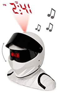 Underground Toys Top Gear The Stig Projector Alarm With Lights And Sounds
