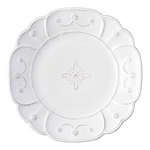 Juliska Jardins Du Monde Dessert Plates (set Of 4) -wht.