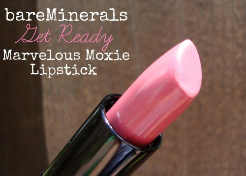 Bareminerals Marvelous Moxie Lipstick Get Ready 0.05 Oz Travel Size by Bareminerals