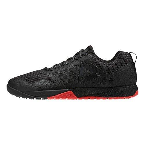 Reebok Women's CrossFit Nano 6.0 CVRT Stealth/Black/Riot Red/Black Athletic Shoe