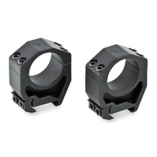 Vortex Optics Precision Matched Riflescope Rings (Set of 2) 1.26 inch height 30mm scopes