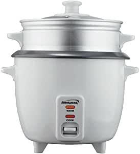 Amazon.com: Automatic Shut-off Rice Cooker with Steamer