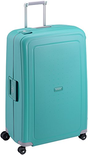 Samsonite S'Cure Spinner XL Suitcase, 81 cm, 138 Litre, Blue (Aqua Blue)
