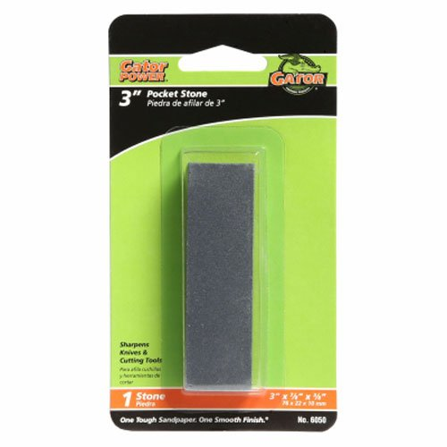 ALI INDUSTRIES 6050 Pocket Sharpening Stone, 3-Inch x 7/8-Inch