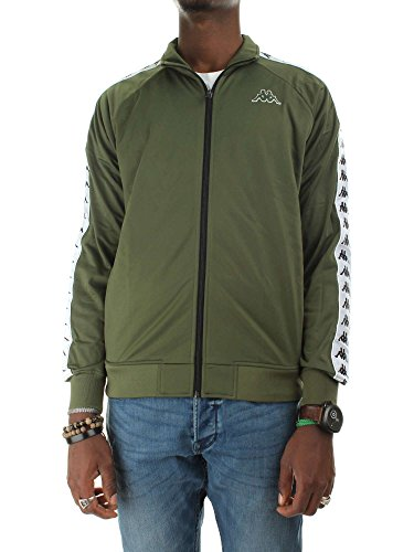 black Green 972 222 Anniston Felpa Military cypress Kappa Green Banda 6YapwqYI