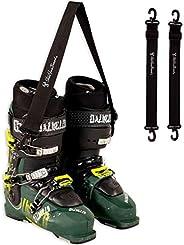 StoreYourBoard Ski and Snowboard Boot Carrier, Adjustable Shoulder Strap, 2 Pack