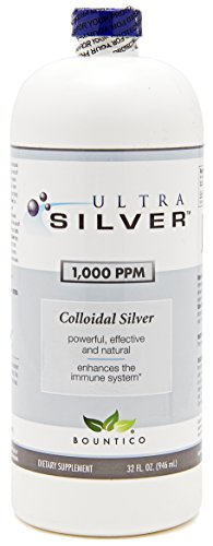 30% Off - Ultra Silver Colloidal Silver 1000 PPM - 32 Oz