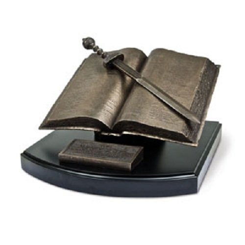 Lighthouse Christian Products Moments of Faith Word of God Sculpture, 8 1/4 x 6 1/2 x 4'' by Lighthouse Christian Products