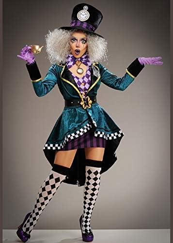 Delights Disfraz de Sombrerero Loco gótico Mujer S (UK 8-10 ...