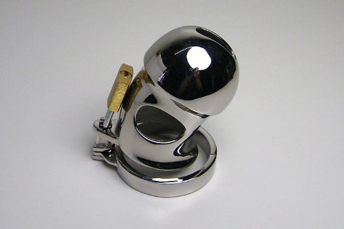 """""""Leto"""", Elegant Steel Chastity Devise Cage By"""