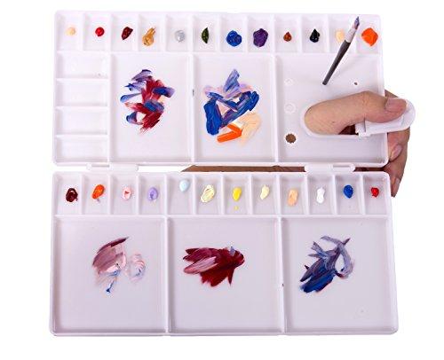 watercolor mixing tray - 6