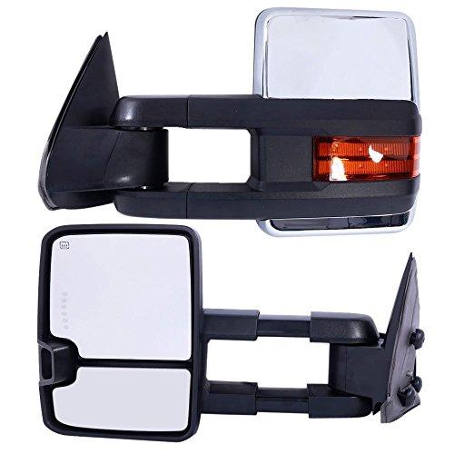 04 chevy tow mirror pair - 8