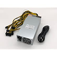 Bleev.In 2500W Power Supply for Antminer S9 D3 A3 And L3+ (1600W@110v 2500W@240v w/10 Connectors)