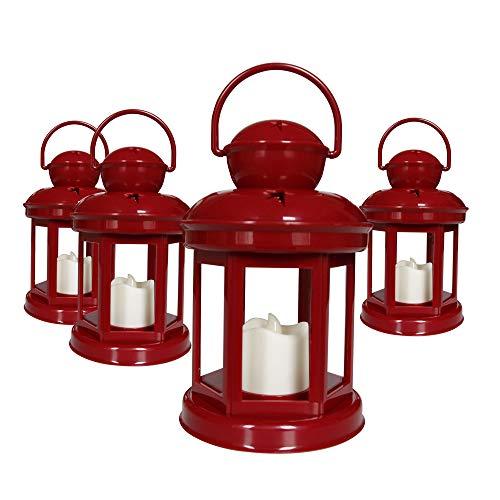 Itikki Decorative Candle Lanterns Soft Flickering LED Light -7.5